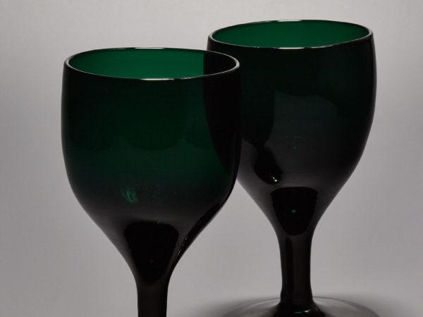 Weinglas, Biedermeier - Schöne Alte Gläser